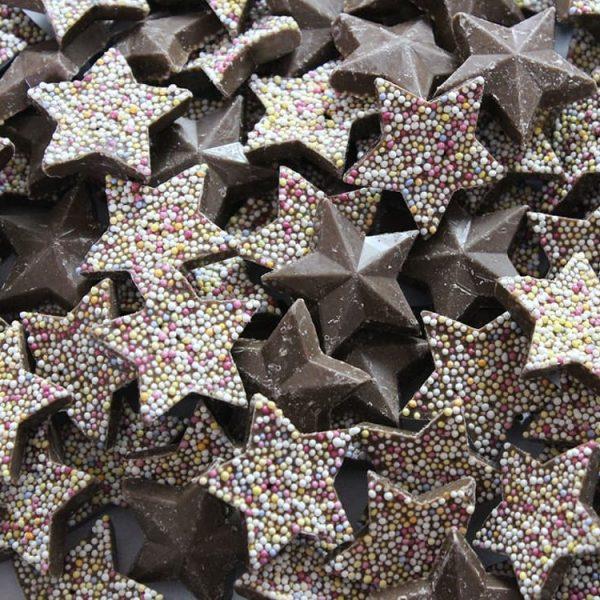 Chocolate Flavour Stars